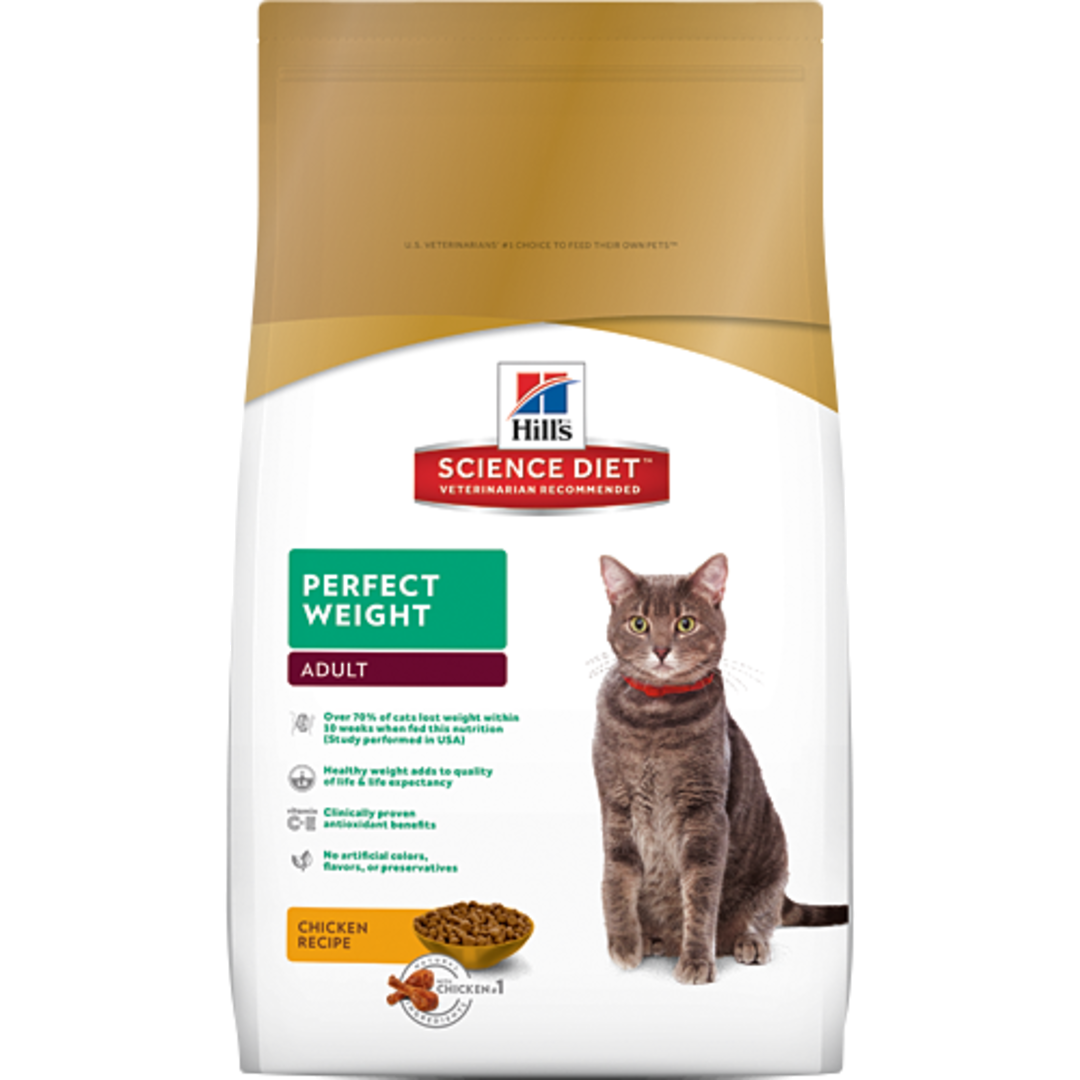 Hill's Science Diet Perfect Weight for Adult Cat 3.17Kg image 0