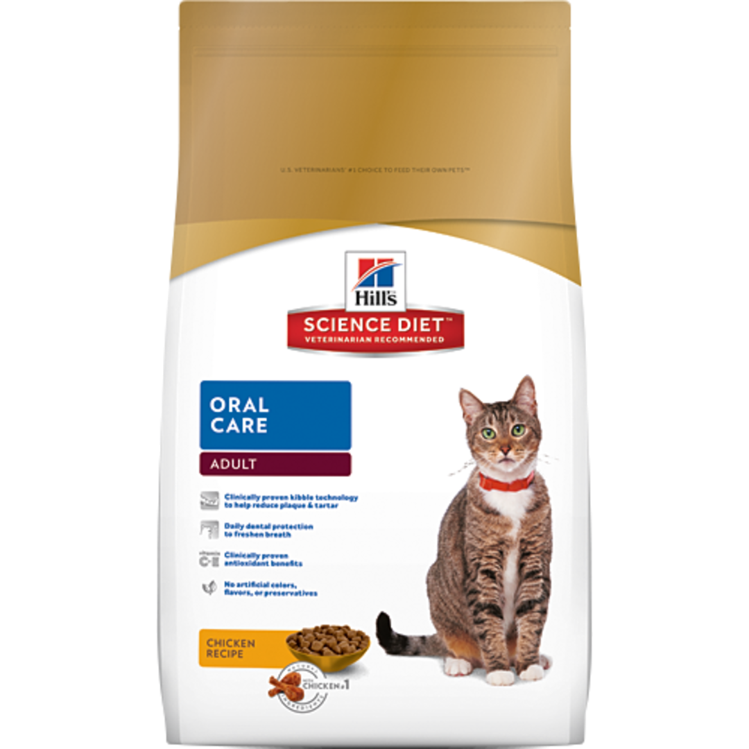 Hill's Science Diet Oral Care for Adult Cat 2Kg image 0