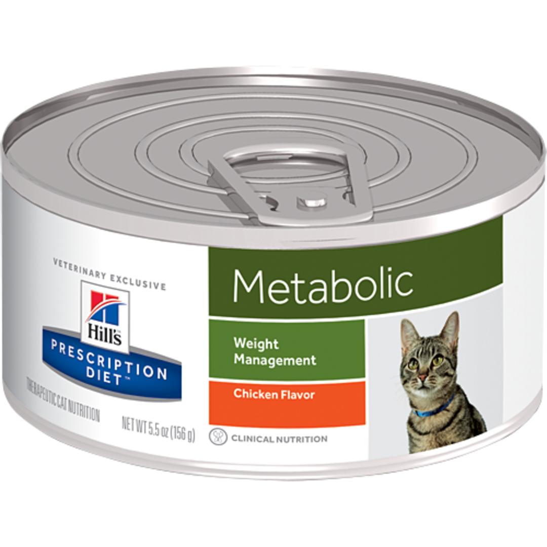 Hill's Prescription Diet Feline Metabolic Cans for Cats 156g image 0