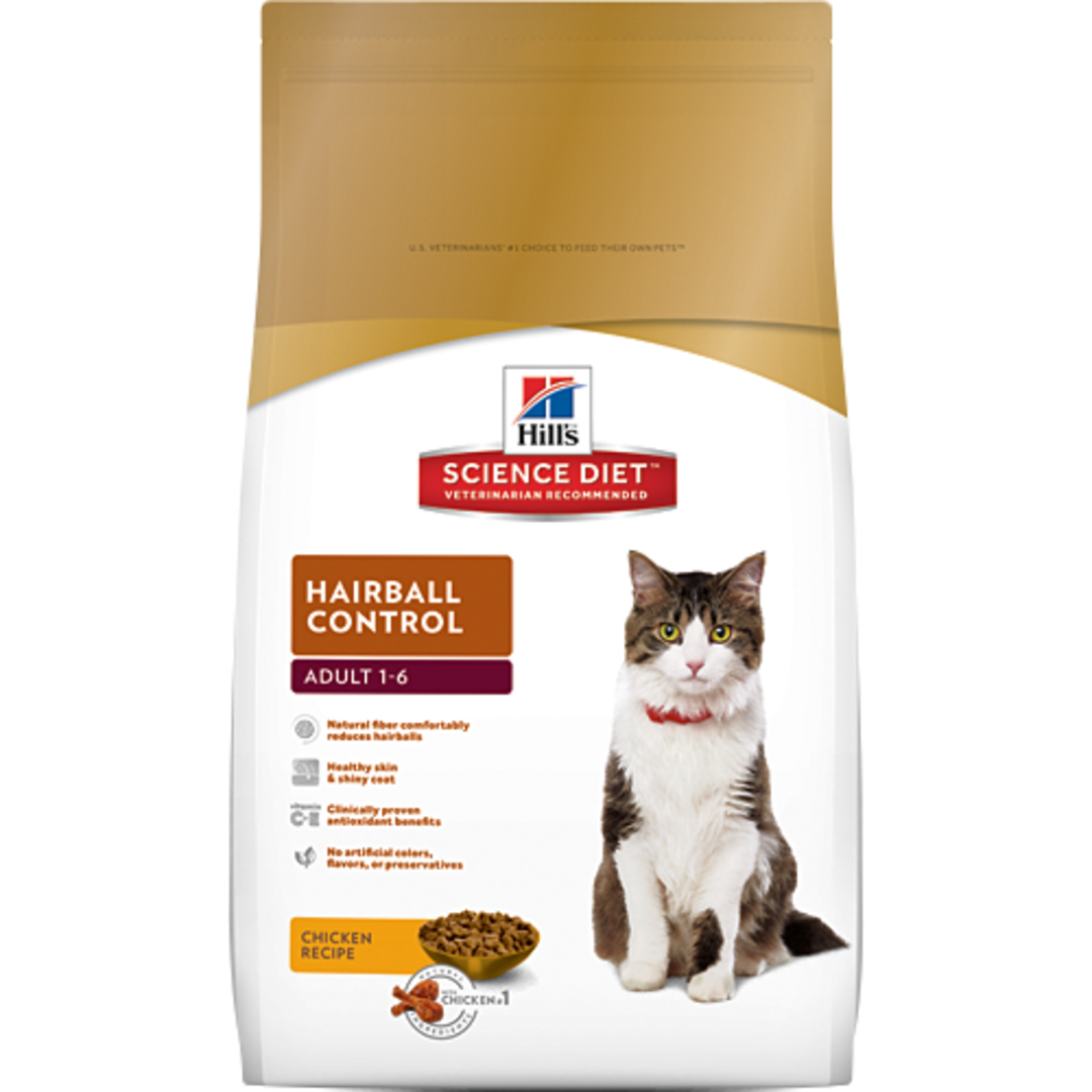 Hill's Science Diet Hairball Control for Adult Cat 2Kg image 0