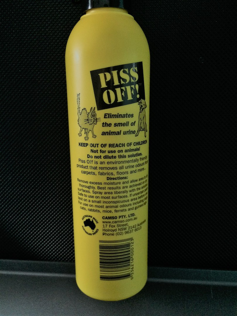 Piss Off Odour Absorber 250ml image 1