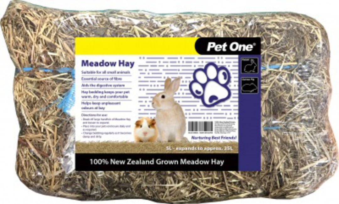 Pet One Bedding Hay 55L Meadow image 0