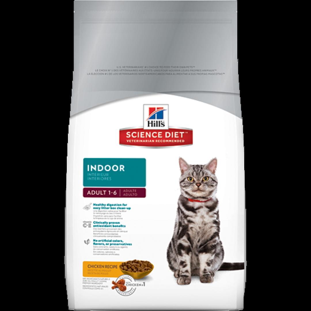 Hill's Science Diet Adult Indoor Cat 2Kg image 0