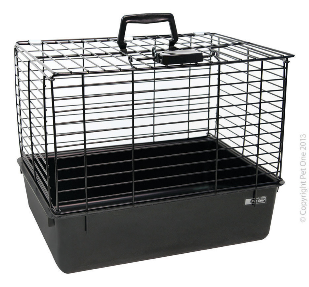 Pet One Wire Top Cat Carrier image 1