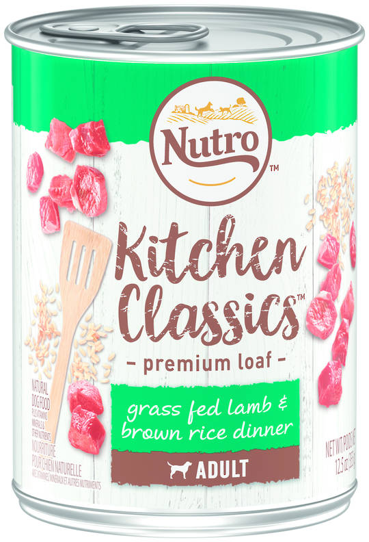Nutro Adult Dog Grass Fed Lamb & Brown Rice Dinner 355g