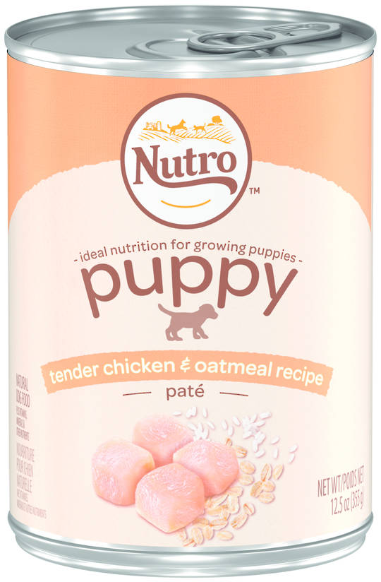 Nutro Puppy Tender Chicken & Oatmeal Pate 355g