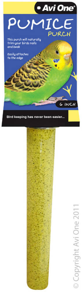 Avi One Pumice Perch 6inch / Light Yellow