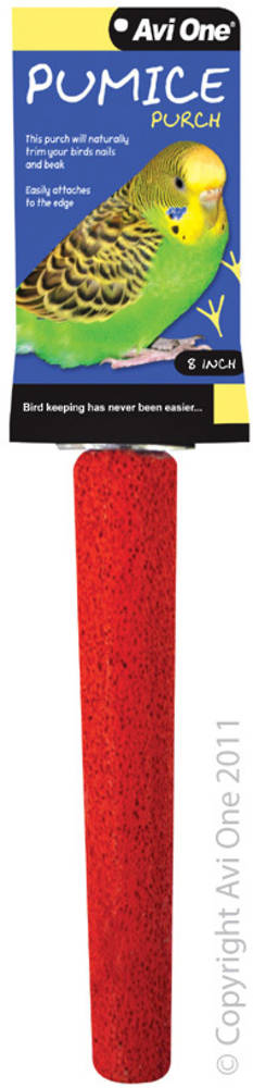 Avi One Pumice Perch 8inch / Red