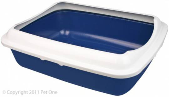 Pet One Cat Litter Tray Large with Lid 50x39x15cm