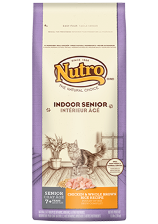 Nutro Natural Choice Indoor Senior Cat Wholesome Essentials / Chicken / 2.95kg