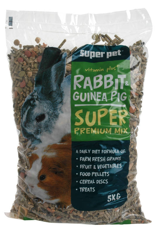 Rabbit & Guinea Pig Food / Super Premium Diet 5Kg