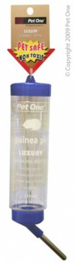 Pet One Deluxe Drinking Bottle Clear 250ml