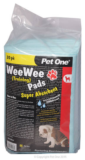 Pet One Wee Wee Training Pads 30pk