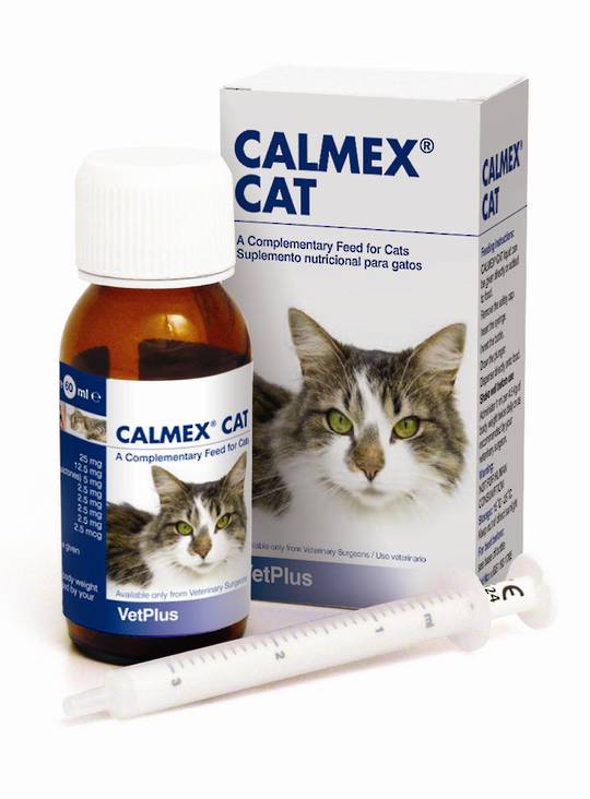 Calmex Liquid for Cats (60ml)