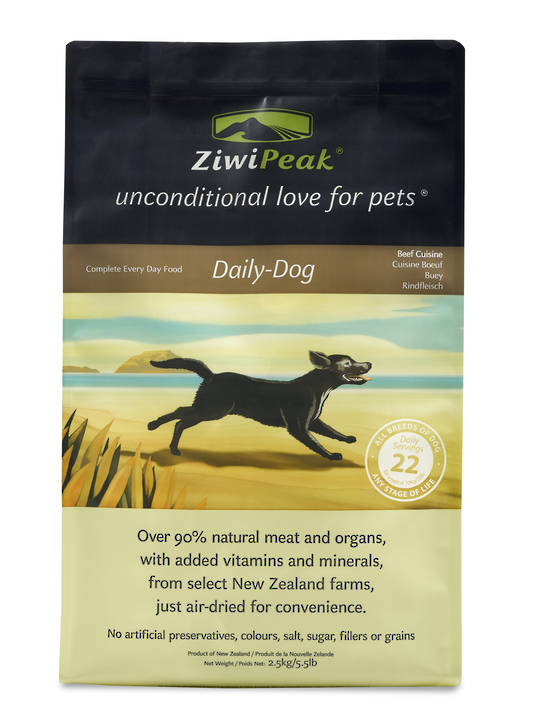 Ziwi Peak Air-Dried Beef Dog Cuisine 2.5kg