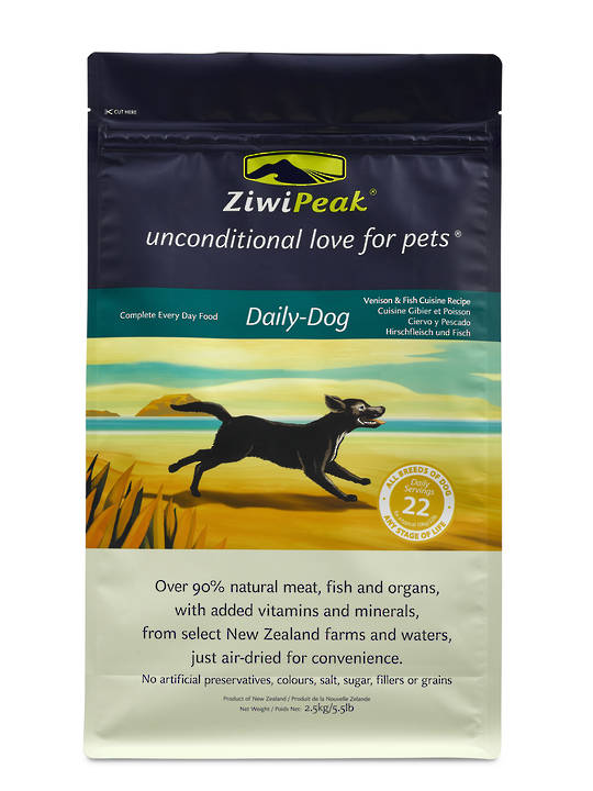 Ziwi Peak Air-Dried Venison & Fish Dog Cuisine 2.5kg