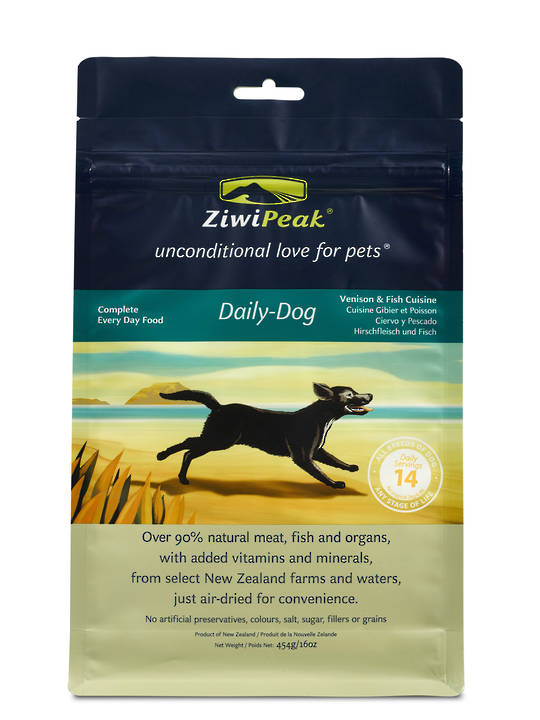 Ziwi Peak Air-Dried Venison & Fish Dog Cuisine 454g