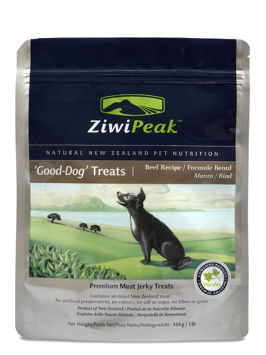 Ziwi Peak Air-Dried Dog Beef Treats 454g