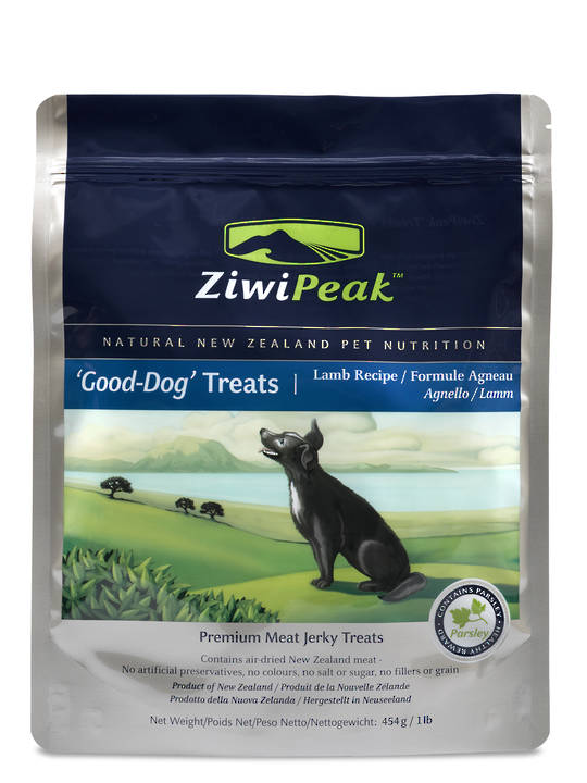 Ziwi Peak Air-Dried Dog Lamb Treats 454g