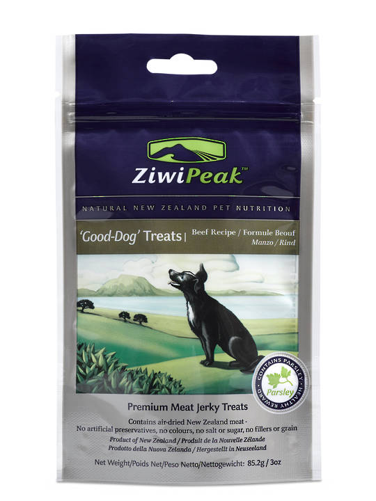 ZiwiPeak Good Dog Air-Dried Beef Treats 85.2g