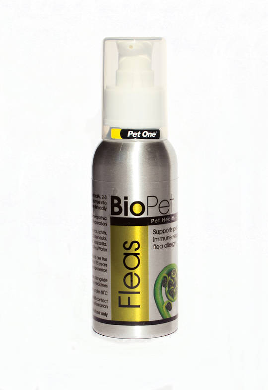 BioPet Homeopathic Remedies Fleas 90ml