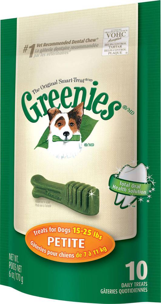 Greenies Canine Mini Treat 10 Pk Petite 170g