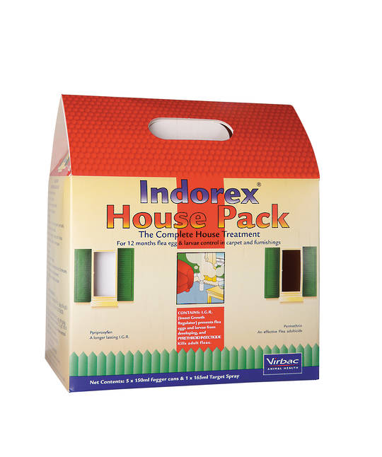 House Pack Flea Treatment (Foggers & Spray)