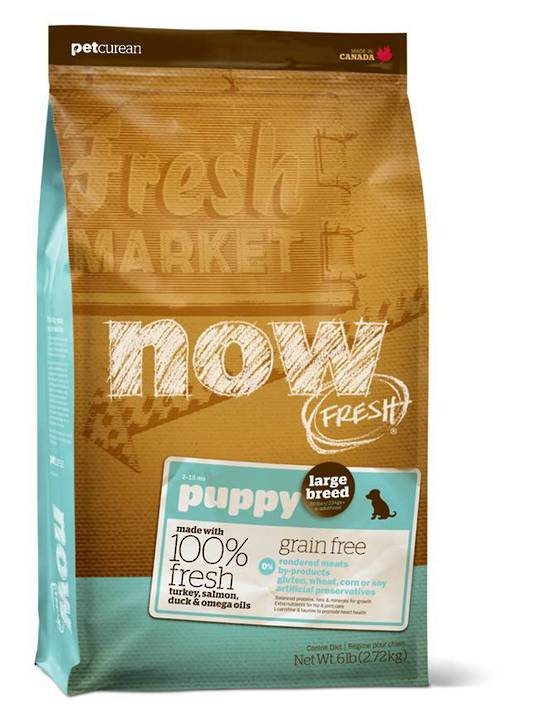 Now Grain Free Large Breed Puppy Recipe 230g