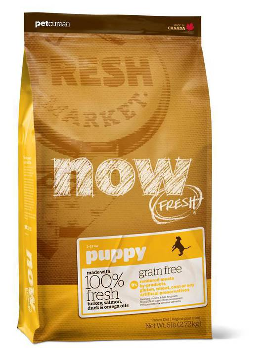 Now Grain Free Puppy Food 230g