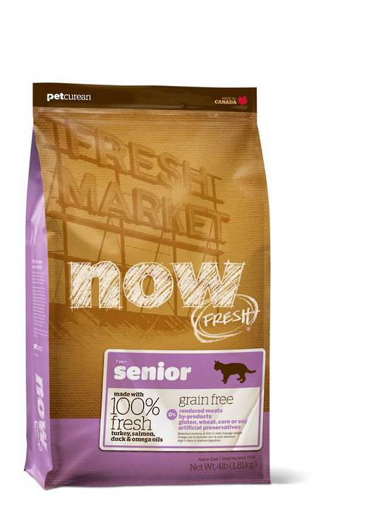 Now Grain Free Senior Cat Food 1.81kg