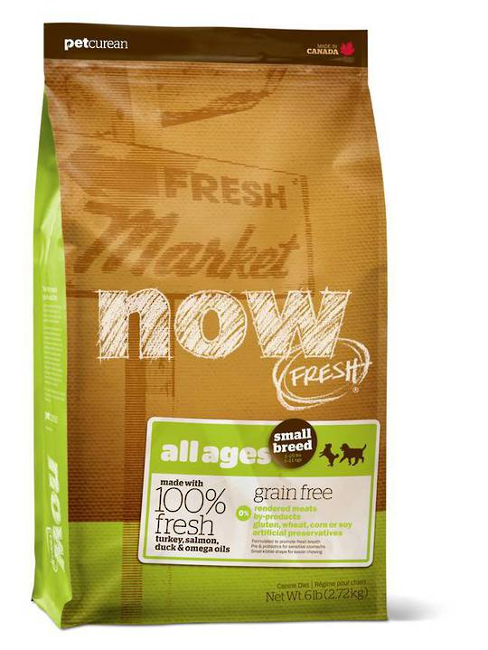 Now Fresh Grain Free Small Breed Adult Dog  Recipe 5.44kg