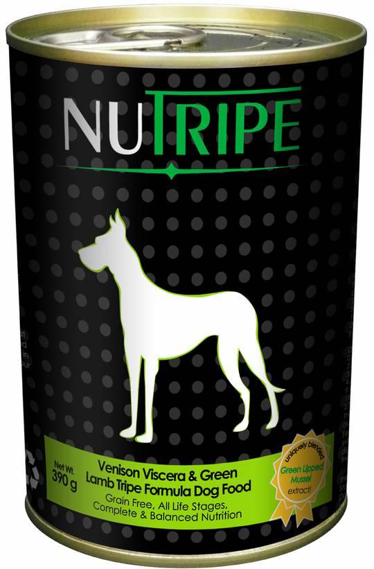 Nutripe Classic Venison Viscera & Green Tripe Formula Dog Food