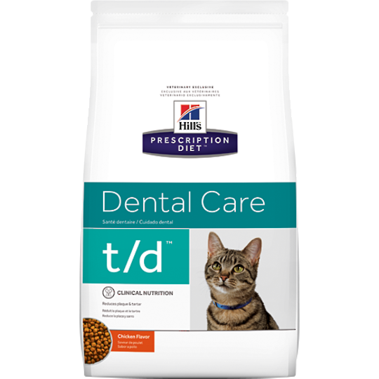 Hill's Prescription Diet Feline Dental Care t/d for Cats 1.5kg