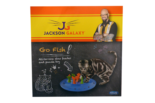 Go Fish! Jackson Galaxy Cat Toy
