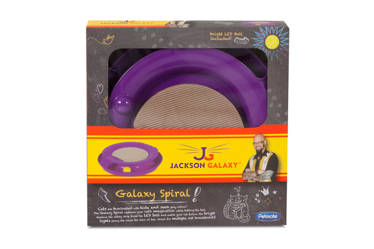 Galaxy Spiral Toy purple