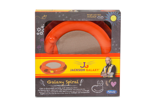 Galaxy Spiral Toy Orange