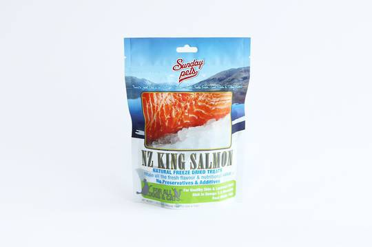 Sunday Freeze Dried Treats 50g NZ King Salmon