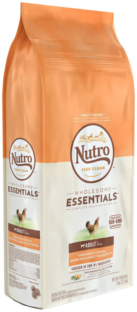 NUTRO Wholesome EssentialAdult Dog - Chicken, Whole Brown Rice & Sweet Potato Recipe -2.27kg