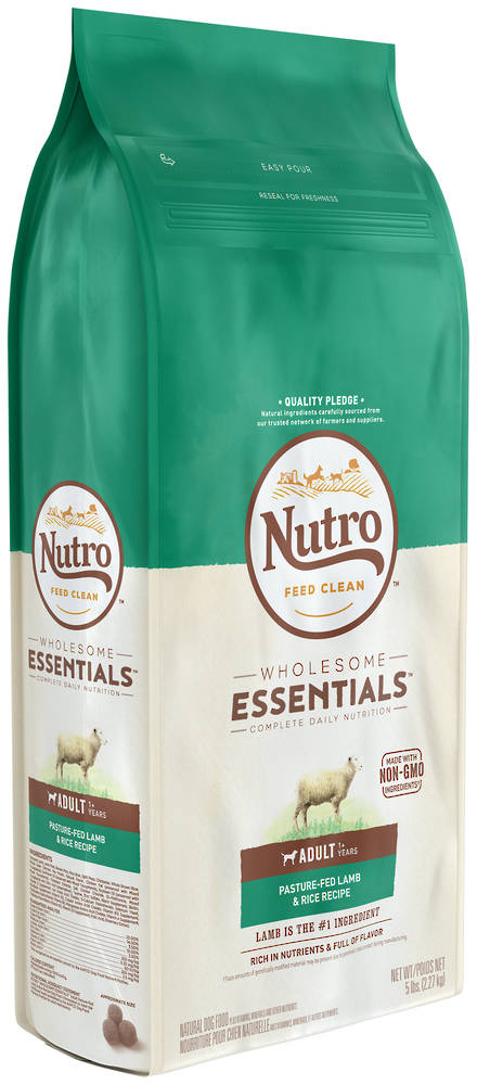 NUTRO Wholesome EssentialAdult Dog - Lamb & Brown Rice Recipe -2.27kg