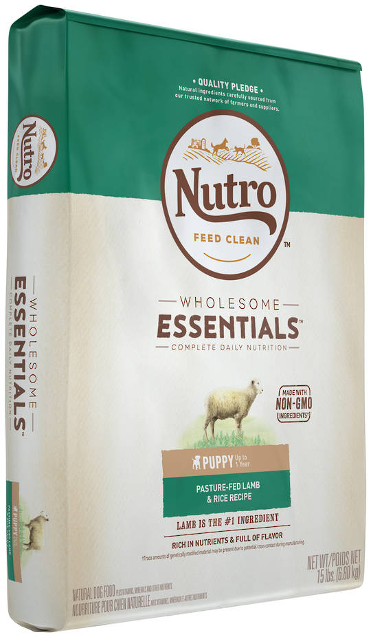 Nutro Wholesome Essential Puppy - Lamb & Brown Rice Recipe -6.8kg