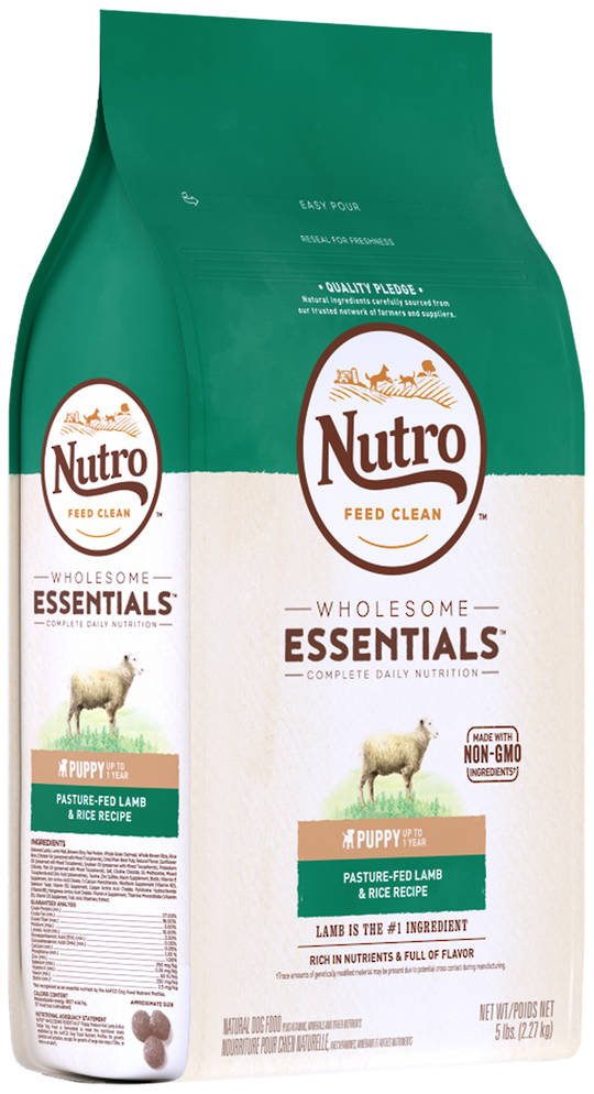 Nutro Wholesome Essential Puppy - Lamb & Brown Rice Recipe -2.27kg