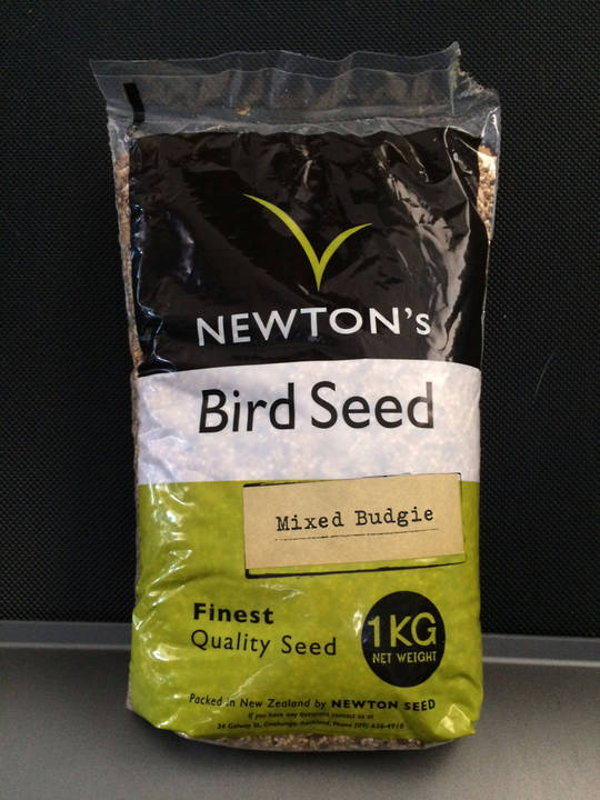 Newton Seed Budgie Seed No Preservatives 1kg
