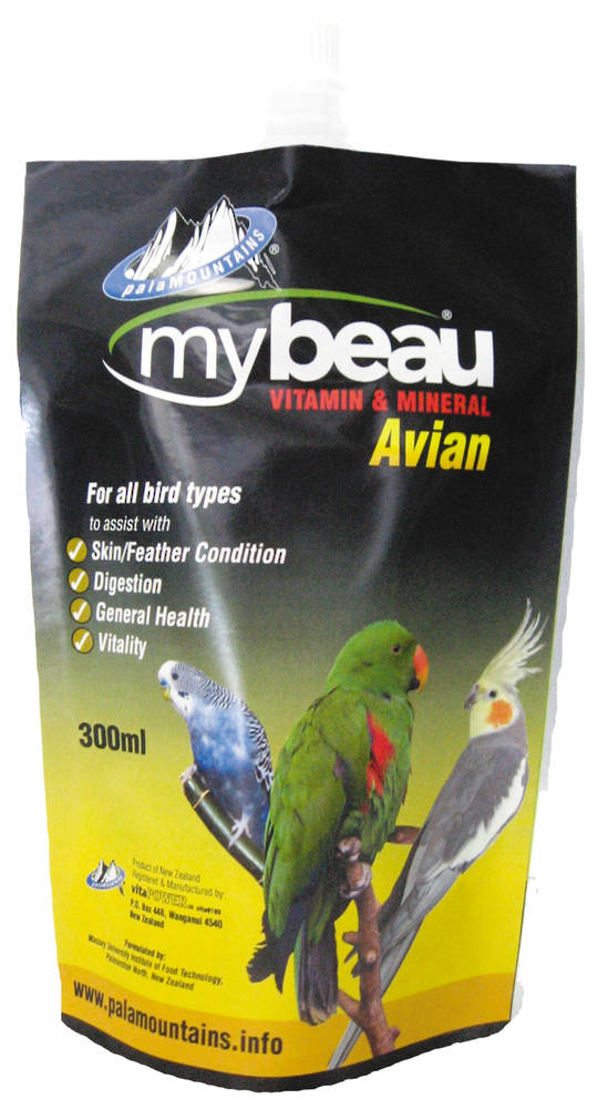 Mybeau Vitamin & Mineral for All Bird Types 300ml