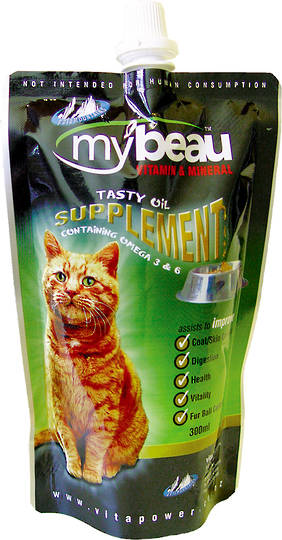 Mybeau Vitamin & Mineral Supplement for Cats 300ml