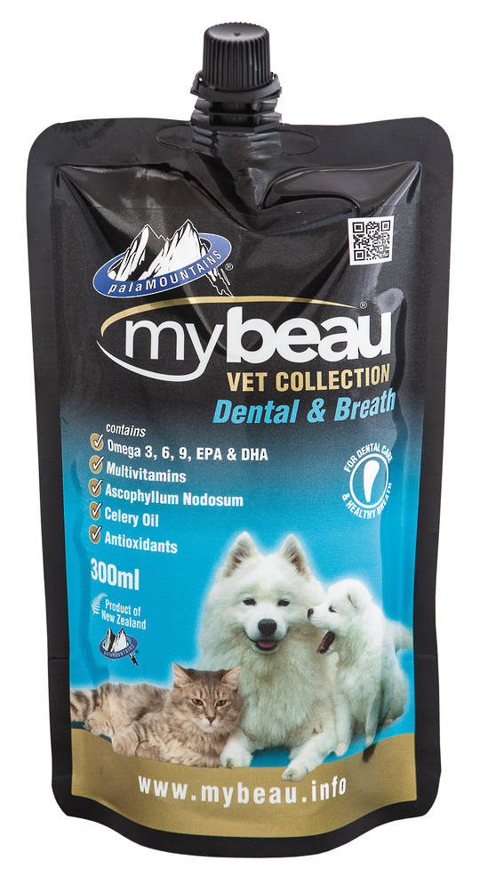 Mybeau Vet Collection For Dental Care and Healthier Breath in Cats & Dogs 300ml