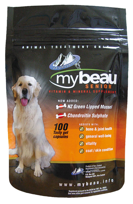 Mybeau Senior For Older Dogs100 Gel Capsules