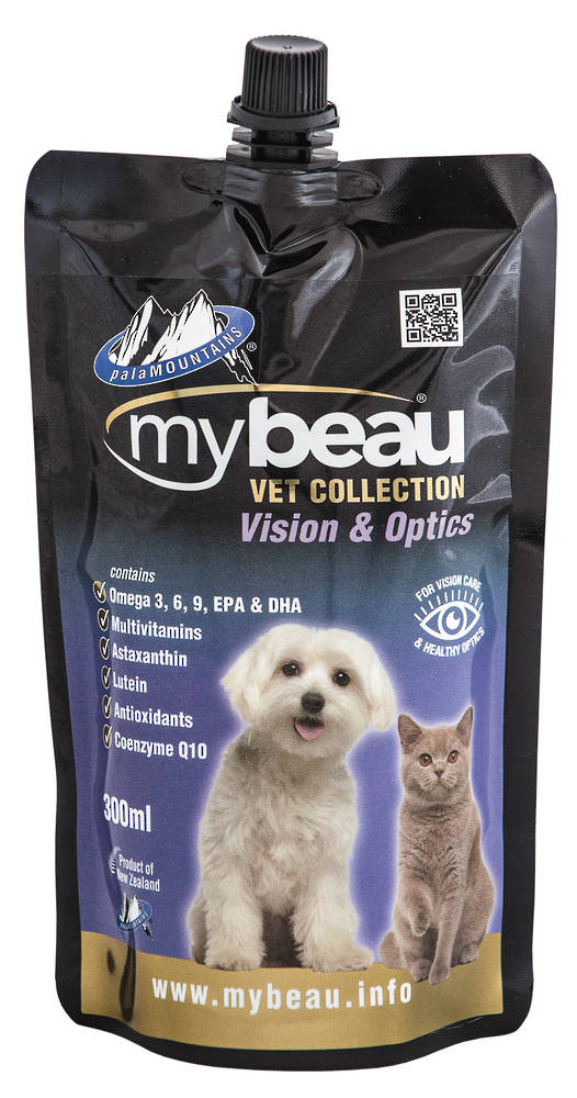 Mybeau Vet Collection For Vision Care and Healthier Optics in Cats & Dogs 300ml Pouch