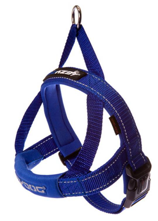 Ezydog Quick Fit Harness / Blue / XS
