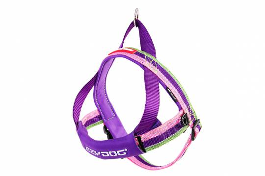 Ezydog Quick Fit Harness / Bubble Gum / XL