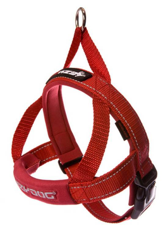 Ezydog Quick Fit Harness / Red / XL